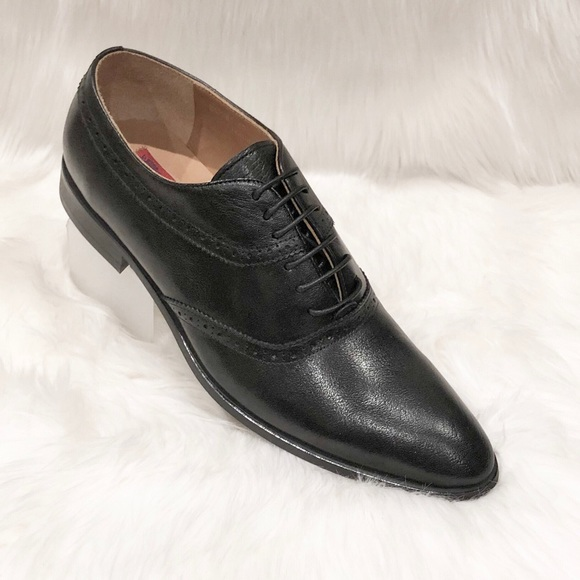 Revelo Other - Revelo Oxford Lace Up Leather Dress Shoes